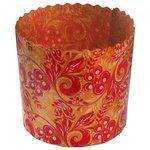 Бумажная форма для пасхальных куличей